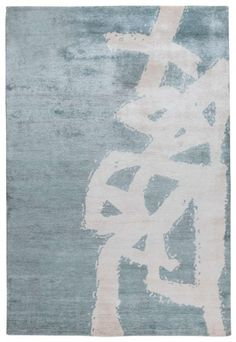 KELLY WEARSTLER | GRAFFITO RUG. Graffito conjures a striking street art aesthetic with its raw brush strokes and painterly quality.