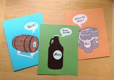 Beer Poster Bundle - Buy All 3 Beer Prints and Save $45