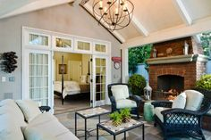 Inspiring Best 10 Outdoor Living Room Ideas For Enjoying Your Days Everyone certainly wants to have an ideal home. The home design depends on the desires and tastes of the homeowner. The house has a lot of space that . Outdoor Living Rooms, Living Room On A Budget, Outdoor Spaces, Dining Rooms, Outdoor Kitchens, Patio Design, House Design, Cottage Design, Exterior Design