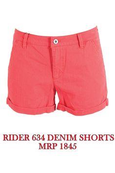 Rider 634 Denim Short - MRP 1845
