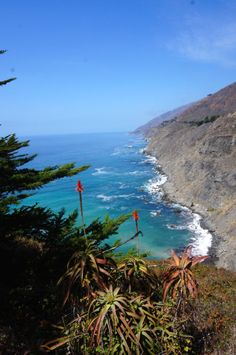 Big Sur, Califórnia, pela Pacific Coast Highway