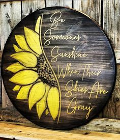 Custom Wood Signs, Wooden Signs, Porch Signs, Door Signs, Beach House Signs, Cottage Signs, Sunflower Gifts, Wood Rounds, Painting On Wood