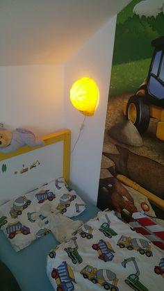 Kinderbett baggerbett  Kinderbetten - Baggerset für Kinderbett Spielbett Bagger Bett ...