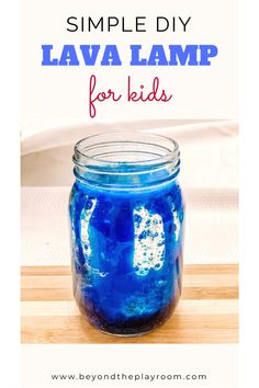 DIY Lava Lamp for Kids