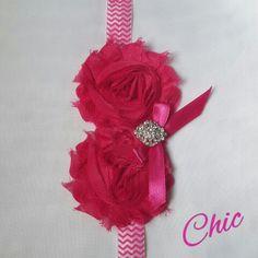 chic headband pink