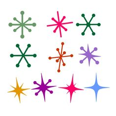 Retro Stars Cuttable Design Cut File. Vector, Clipart, Digital Scrapbooking Download, Available in JPEG, PDF, EPS, DXF and SVG. Works with Cricut, Design Space, Cuts A Lot, Make the Cut!, Inkscape, CorelDraw, Adobe Illustrator, Silhouette Cameo, Brother ScanNCut and other software.