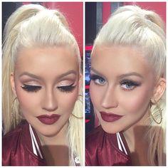 Christina looks so gorgeous! Makeup 2016, Sexy Makeup, Makeup Geek, Makeup Inspo, Insta Makeup, Makeup Addict, Beauty Makeup, Hair Makeup, Makeup Style