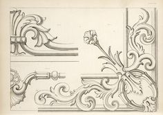 SEE SITE FOR MORE - 1840 - Arrowsmith, Henry William / The house decorator and painter's guide; containing a series of designs for decorating apartments, suited to the various styles of architecture