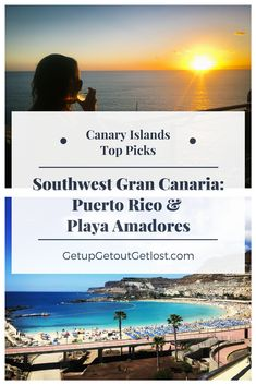 As a Canary Island expat, I make it my personal duty (and, of course, pleasure) to get to know every last bit of the islands. Most recently I've explored Puerto Viejo and Playa Amadores in the southwest corner of Gran Canaria. Join me as I choose my top picks for sights and activities in Gran Canaria south. #Grancanaria #canaryislands #puertorico