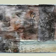 textile collage wax - Google Search