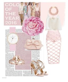 """Sexy pink"" by djulianne on Polyvore featuring мода, Aquazzura, Boohoo, Kenneth Jay Lane, Bliss Diamond и Ballard Designs"