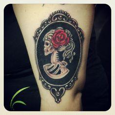 cameo tattoo : @Alejandro de Onís de Onís ERrera  :) mira!