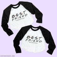 Even when the rain starts to fall I'll be there for you. Make your bestie feel amazing with a best friend shirt! You already know you're going to be friends forever! Wear these matching best friend tops to show off your friendship.