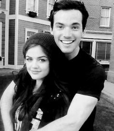 did aria and ezra dating in real life Aria & liam break up on 'pretty little liars,' which leaves room for  do with all the other stuff she has going on in her life,  aria and ezra's book.