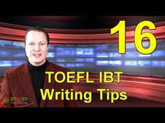 Learn English with Steve Ford - TOEFL 16 - TOEFL IBT Writing Tips - Repinned by Chesapeake College Adult Ed. We offer free classes on the Eastern Shore of MD to help you earn your GED - H.S. Diploma or Learn English (ESL) . For GED classes contact Danielle Thomas 410-829-6043 dthomas@chesapeake.edu For ESL classes contact Karen Luceti - 410-443-1163 Kluceti@chesapeake.edu . www.chesapeake.edu