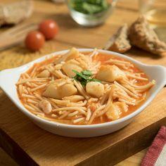 #Fideos con #sepia Un plato espectacular para disfrutar de los guisos en verano #recetas #recetasfaciles #recetasgratis #comida