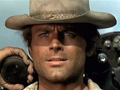 Heck Yeaaahhh!! I watched cowboy movies with my dad to look at his guy!!! Terence Hill <3