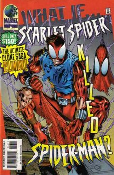 If the Scarlet Spider killed Spider-Man, would it be murder or suicide?