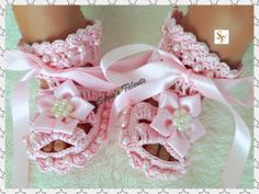 1224 Months PATTERN PT002B  Baby Shoes with by PatternsDesigner, $7.49
