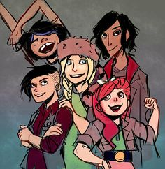 Lumberjanes by cryoclaire