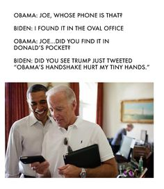 Hilarious Memes Of Joe Biden Plotting White House Pranks Are Internet Gold – 20 Pics - Daily LOL Pics Joe And Obama, Obama And Biden, Joe Biden, House Pranks, Obama Funny, Obama Meme, Trump Meme, Tumblr, Fresh Memes
