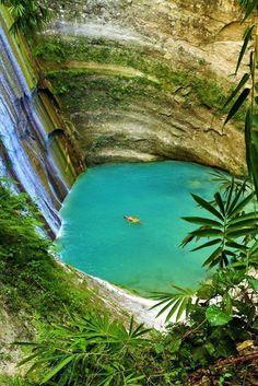Dau Falls, Cebu Philippines
