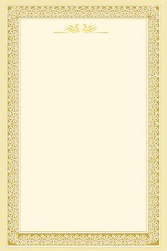 Gold Wallpaper Background, Desktop Background Pictures, Poster Background Design, Frame Border Design, Page Borders Design, Bio Data For Marriage, Picture Borders, Certificate Background, Education Certificate