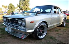 1970 Nissan Skyline GT-R. By Auto Otaku, via Flickr