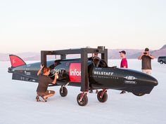 Live from Bonneville: Guy Martin's land speed record attempt