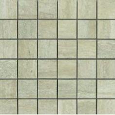 Travertino Osso Mosaic Ceramic & Porcelain Backsplash Tile.