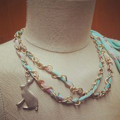 New Accessories Collection // Rabbitland necklace #lalamagic
