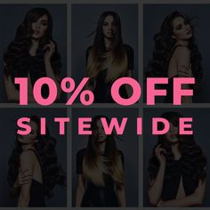 BLACK FRIDAY IS HERE!! We've got some SUPER savings for you! Save up to 80% off selected items!⚡ PLUS 10% Off Sitewide!  CODE : BFCM10 (Expires 11:59pm 02/12/19) 😍  #BFCM #Sale #BlackFriday #CyberMonday #HairExtensions #Itips #UTips #Weft #Tapes #Clip-ins #Ponytails Hair Rehab London, London Blog, Ponytail, Hair Extensions, Black Friday, Weave Hair Extensions, Extensions Hair, Pony Tails, Cola De Caballo