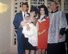 Annette Funicello at Gina's christening