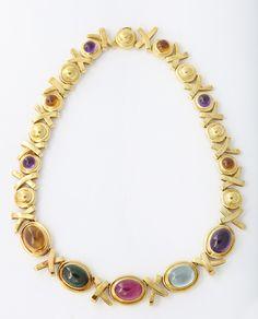 "Tiffany Paloma Picasso ""Love & Kisses"" Necklace"