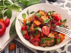 This classic Italian bread and tomato salad manages to be fresh and summery, but still hearty enough to eat as a light supper or lunch.