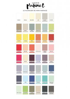 1000 ideas about nuancier couleur on pinterest color schemes harmonie des couleurs and nuancier - Couleur lin nuancier ...