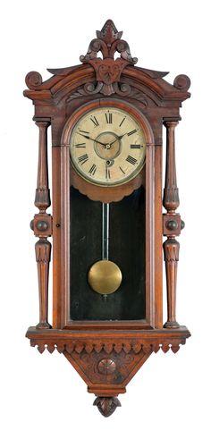 Large American Jeweler S Regulator Wall Clock 8 Days