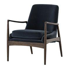 Braden Mid-Century Modern Velvet Club Chair   Zin Home - Fourhands