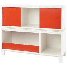 District 3-Cube Storage Frame (White) in Bookcases - to use at the end of the bed or in-between the beds.