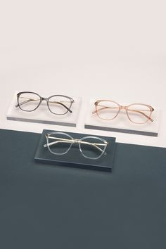 1b1a8975ae Our BonLook ILLUSION glasses in Gold Shadow