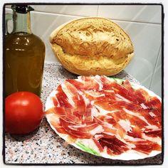 Desayuno Mediterráneo Breakfast Desayunos, Meat, Food, Essen, Meals, Yemek, Eten