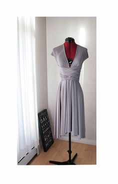 Convertible/Infinity Dress  Knee Length  Glossy by christintina, $110.00 by lea