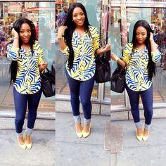 Click Check out Latest Ankara Styles and Dresses>>http://www.dezangozone.com/ ~Latest African Fashion, African Prints, African fashion styles, African clothing, Nigerian style, Ghanaian fashion, African women dresses, African Bags, African shoes, Kitenge, Gele, Nigerian fashion, Ankara, Aso okè, Kenté, brocade. ~DK