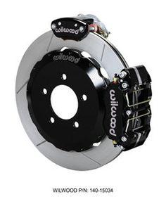 """Wilwood 12.88"""" REAR Big Brake Kit with Parking Brake"""