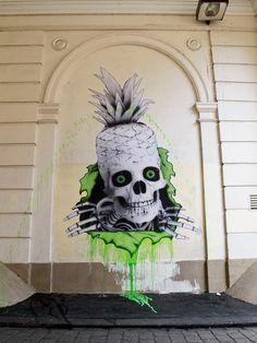 Street art by LUDO