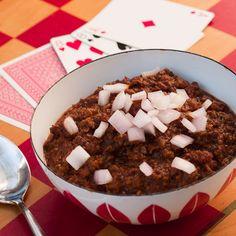 Low carb/paleo chili - with an interesting twist! :)