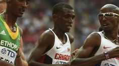 Mo Ahmed sets new Canadian indoor record in 5,000 Broke Cam Levins' record by just under 15 seconds