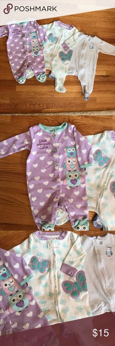 Koala Baby 3 Months Pajamas Excellent like new condition.  Don't think it was even used. Bundle up and save! 15% discount on 3 or more times and pay once for shipping! Pet and smoke free home Koala Kids Pajamas