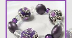 Beginner's jewellery making project - string a Kashmiri bead bracelet on Stretch Magic beading elastic and learn how to tie a secure knot.