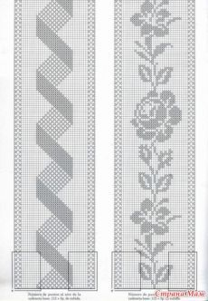 Best 12 World Crochet: Crocheted Strips - Diy Crafts - maallure Crochet Bedspread Pattern, Crochet Table Runner Pattern, Crochet Curtains, Granny Square Crochet Pattern, Chevron Crochet, Crochet Lace Edging, Crochet Doilies, Diy Crafts Vintage, Crochet Squares